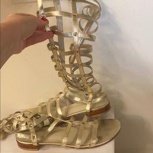 Stuart weitzman gladiator  sandals size 8.5